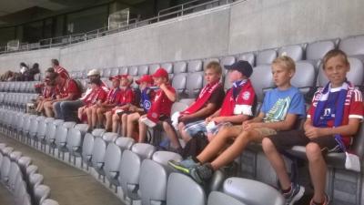 Fotoalbum Jugendausflug zur Teampräsentation des FC Bayern München