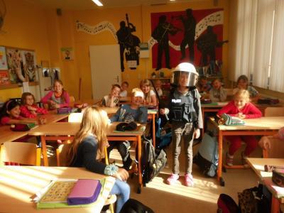 Fotoalbum Prävention in den 3.Klassen