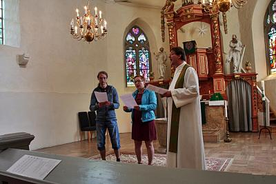 Fotoalbum Besuch der Ilmenauer Gemeindegruppe Juli 2015