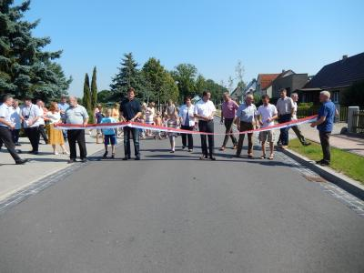 Fotoalbum Einweihung der Hauptstraße in Kleinow