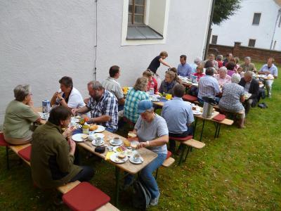 Foto des Albums: Frühstück zum Sommer der Begegnung in Ziegenhain (16.08.2015)