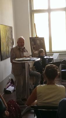 """Fotoalbum Die Ausstellung """"Mensch Wanderer"""" von Anna Gestrich"""