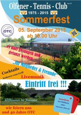 Fotoalbum Einladung zum Sommerfest 2015