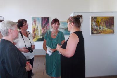 Fotoalbum 34. Kunstausstellung Frau Anett Münnich