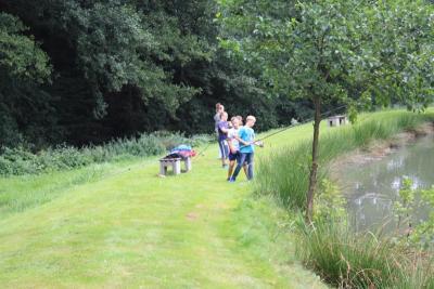 Fotoalbum Ferienspiele 2015 - Abenteuerangeln in Kruspis