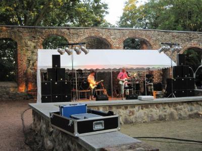 Fotoalbum Rock im Burghof