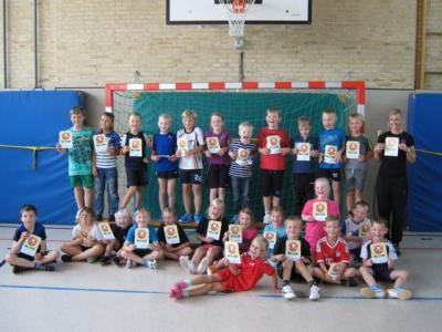 Fotoalbum Handball macht Schule