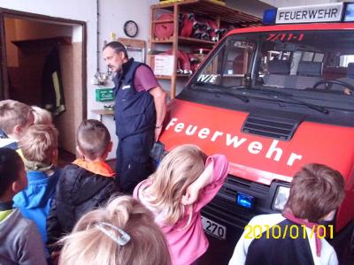 Fotoalbum Ausflug zur Feuerwehr Neustadt (Kita Köritz)