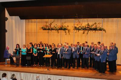 Fotoalbum Gemeinsames Konzert mit dem Männerchor Fischen