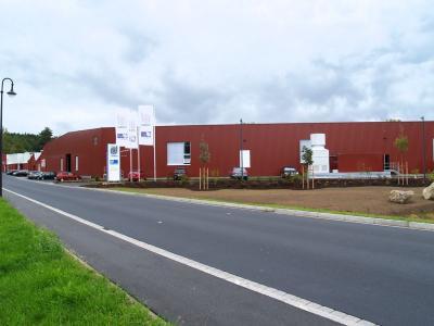 Fotoalbum Neue Halle für Stahl- und Drahtwerk Röslau GmbH