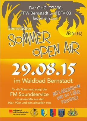 Fotoalbum Bernstädter Sommer Open Air