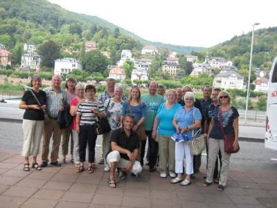 Fotoalbum Ausflugsfahrt der Museumshelfer 07.-09.08.2015 nach Worms