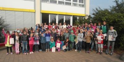 Fotoalbum Siegerehrung Schulsportfest 2015