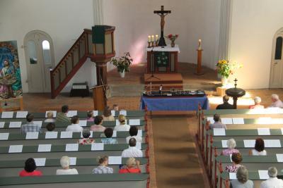 Fotoalbum Sommerfest in der evang. Kirche Elster