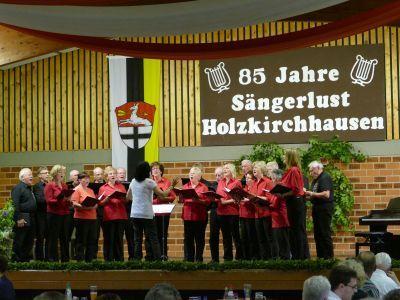 Fotoalbum Liederabend in Holzkirchhausen mit dem Gemeinsamen Chor