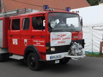 Fotoalbum 80 Jahre Feuerwehr Brunne