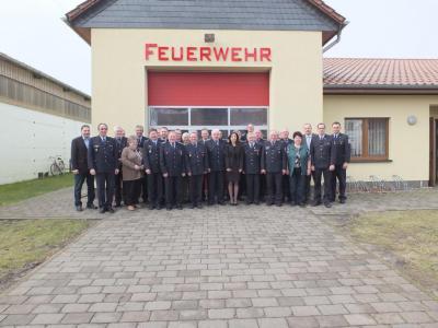 Fotoalbum Auszeichnung für Treue Dienste der Gemeinde Fehrbellin