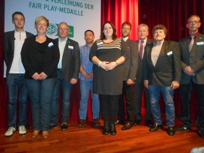 Fotoalbum Ehrenamtspreisträger des DFB 2014