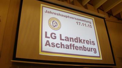 Fotoalbum Jahreshauptversammlung 2015