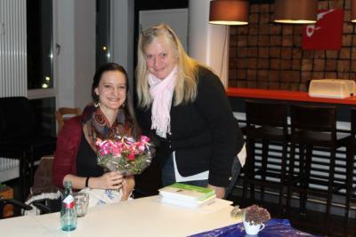 Fotoalbum Literarische Tea Time mit Elisa Wächtershäuser
