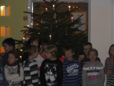 Fotoalbum Weihnachtssingen in der Aula