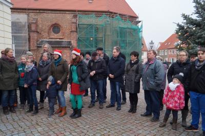 Fotoalbum 20. Adventsbild von der Peenestadt Neukalen