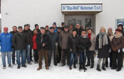Fotoalbum Winterwanderung des SV Mackensen am 17. Januar 2016
