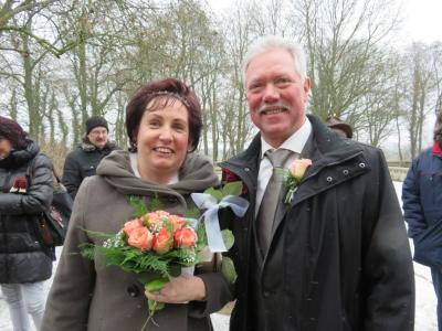 Fotoalbum Hochzeit in der winterlichen Burg Freyenstein