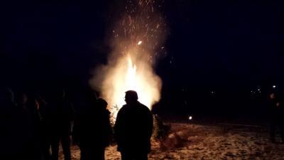 Fotoalbum Weihnachtsbaumverbrennung 2016