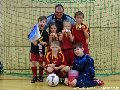 Fotoalbum Fußball Bambini: Hallenturnier des Holtendorfer SV am 09.01.16