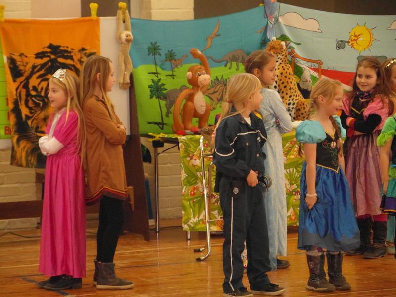 Stadt Egeln Im Dschungel Fasching In Der Grundschule
