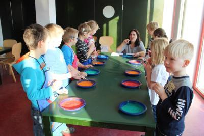 """Fotoalbum Mitmachprojekt für Schulanfänger """"Im Rausch der Farben"""""""