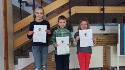 Fotoalbum Urkundenverleihung für Mathe-Olympiade