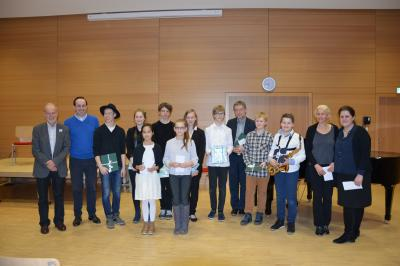 Fotoalbum Preisträgerkonzert
