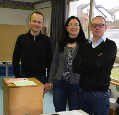 Fotoalbum Kommunalwahl 2016  Wahlhelfer