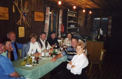 Fotoalbum Wanderwochenende vom 16.05. - 18.05.2003 in Steimark (Spessart) Hotel Talblick