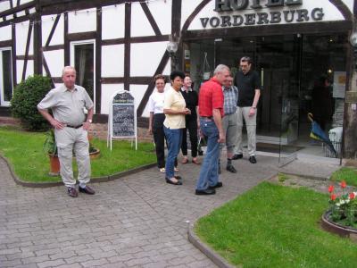 Fotoalbum Wanderwochenende vom 30.04. - 01.05.2004 in Schlitz Hotel Vorderburg