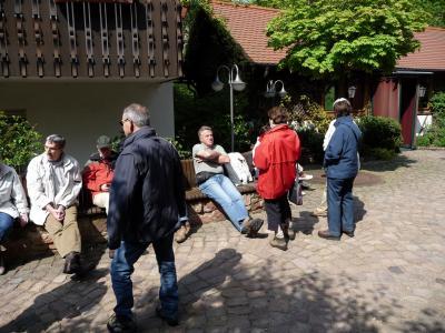 Fotoalbum Wanderwochenende vom 24.04. - 26.04.2009 in Heimbuchenthal - Hotel Heimatenhof