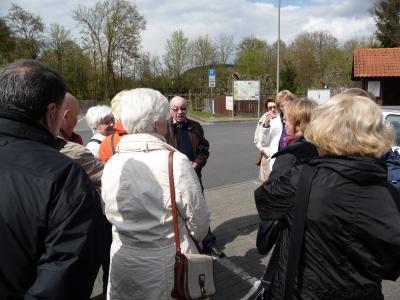 Fotoalbum Wanderwochenende vom 22.04. - 24.04.2012 in Hammelburg OT Morlesau -  Hotel Gasthof Nöth