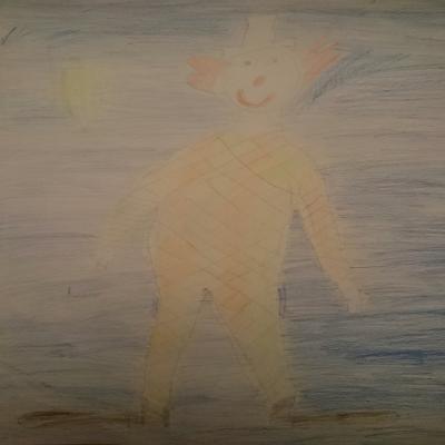 Fotoalbum Harlekin nach Picasso