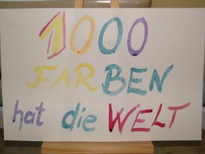 """Fotoalbum Musical """"1000 Farben hat die Welt"""""""