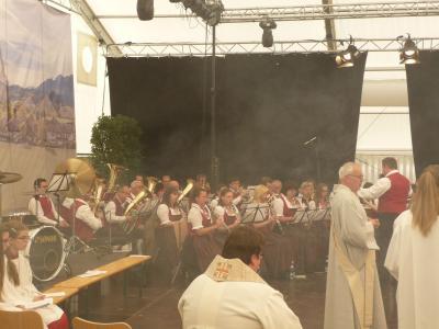 Foto des Albums: Messe beim 59. Bezitksmusikfest in Buchloe (08.05.2016)