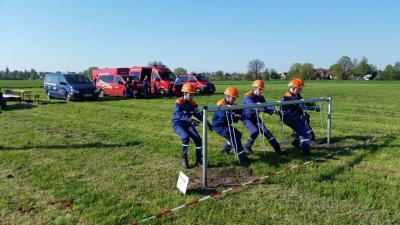 Fotoalbum Feuerwehr für  Kreisausscheid qualifiziert