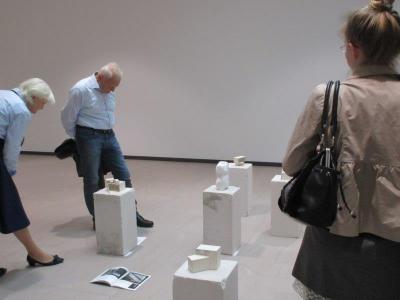 Fotoalbum Impressionen der  Kunstausstellung der beiden Leistungskurse 11 und 12 in der Stadthalle Falkensee am 24. und 25.Mai 2016
