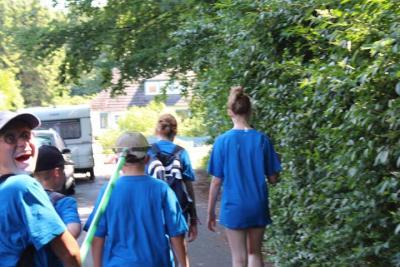 Fotoalbum Wassercamp 2016 in Barmstedt: Das Arbeiten an der Krückau