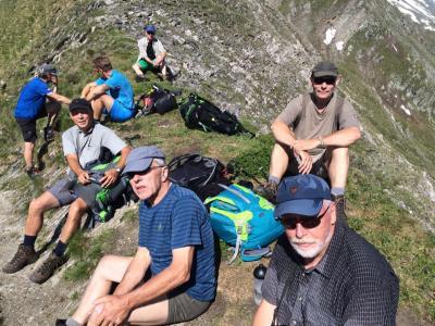 Fotoalbum Bergwanderung über die Alpen