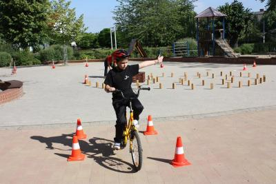 Fotoalbum Fahrradprüfung 2016
