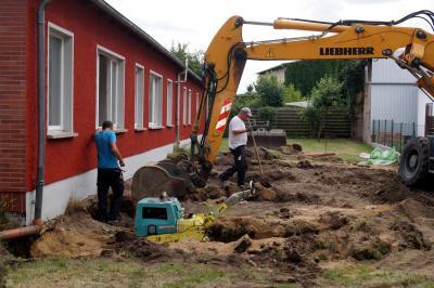 Fotoalbum Umbauarbeiten der Arztpraxis des MVZ Demmin