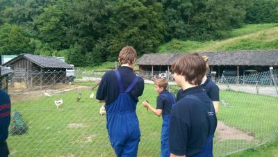 Fotoalbum JF-Besuch der Gammersbacher Mühle