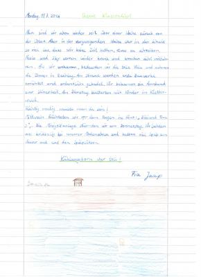 Fotoalbum Klassenfahrt Klasse 4 Ende Juni 2016 zur Ostsee